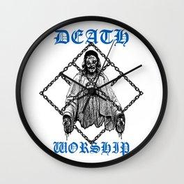 Death Worship Wall Clock