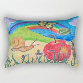 Little Garden Friends Snack Time Rectangular Pillow