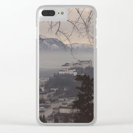 Salzburg Castle Clear iPhone Case