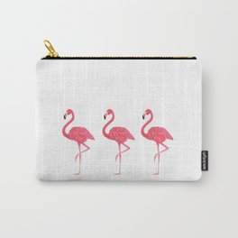 Flamingo tropical dance Carry-All Pouch