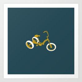 tricycle 01 Art Print