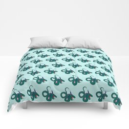 Funky dragons Comforters