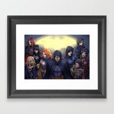 Unmasked Framed Art Print