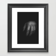 Hand 02 Framed Art Print