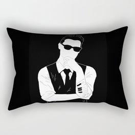 Cynical Minds Rectangular Pillow
