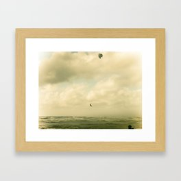 In the sky  Framed Art Print