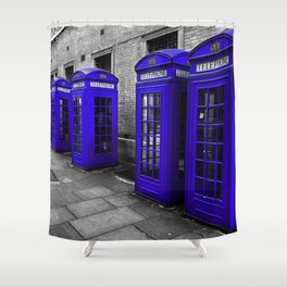 A Jolly Good Day in England Shower Curtain