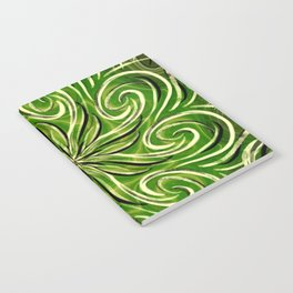 Emerald Swirl Notebook