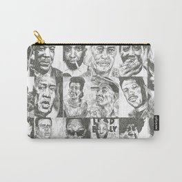 Blues Musicians Collection Carry-All Pouch
