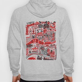 London Map Hoody