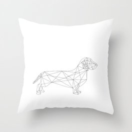 Dachshund Throw Pillow