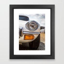 """Headlight"" - Classic cars lovers Framed Art Print"
