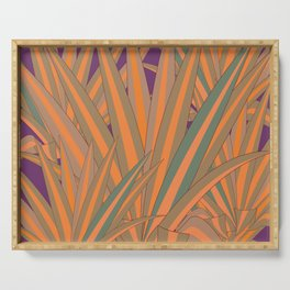 Colorful Agaves Serving Tray