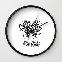 Geminis Wall Clock