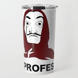 LA CASA DE PAPEL tee shirt El Profesor Travel Mug