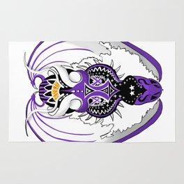 Ultraviolet Dragon Rug