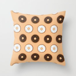 Donuts Resist Throw Pillow