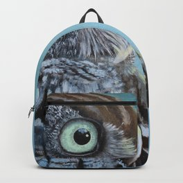 Owl and Lightning Bugs Backpack