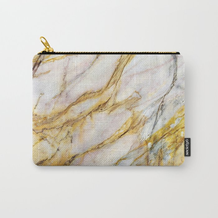 Marble Texture Carry-All Pouch