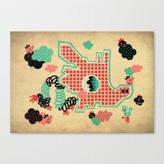 Dragon Playground Canvas Print