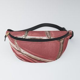 poste box red pattern entropy Fanny Pack