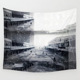 Snowfallen Ashes: Within These Years of Questionable Defeat Wall Tapestry