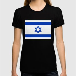 Flag of the State of Israel - High Quality Image T-shirt