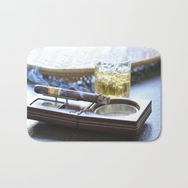 Cigar Time Bath Mat