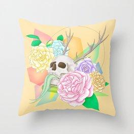 Fancy Grave Throw Pillow