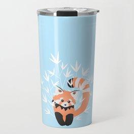 Baby Red Panda / Sky Travel Mug