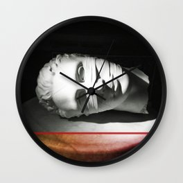 Lay down and rest Wall Clock