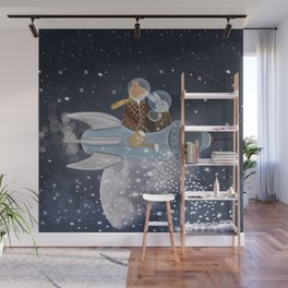 creating stars Wall Mural