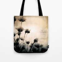 wild things Tote Bags featuring wild things by Dorit Fuhg