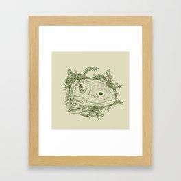 Komodo Framed Art Print