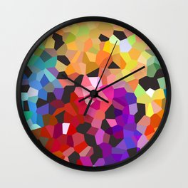 """fooling around"" Wall Clock"