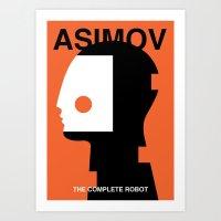 The Complete Robot Art Print