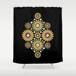 Sorbet Sunburst Shower Curtain