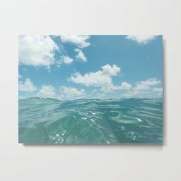 Hawaii Water IV Metal Print