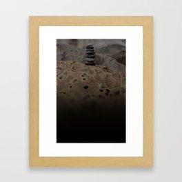 Balance Of Life Framed Art Print