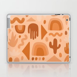 Orange Cutout Print Laptop & iPad Skin