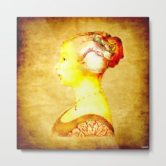 gestation Metal Print