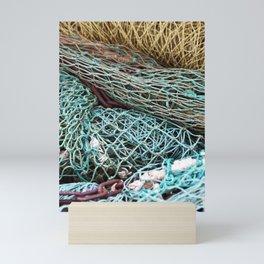 FISHING NET Mini Art Print