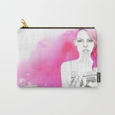 Little Trouble Girl Carry-All Pouch