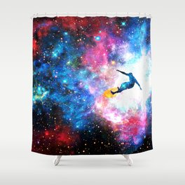 Bobby Betelgeuse Shower Curtain