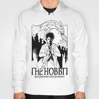 hobbit Hoodies featuring The Hobbit by LinhBR
