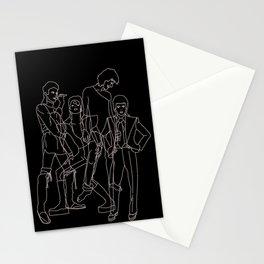 Davie Bowie Line Print Stationery Cards