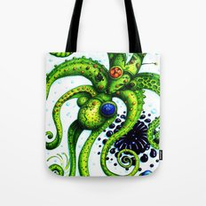 Infinity Octopus Tote Bag