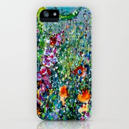 Whimsical Spring iPhone Case