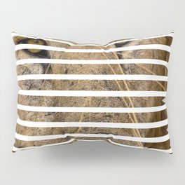 This is quite obviously another lion Pillow Sham