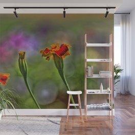 Marigold Trio Wall Mural